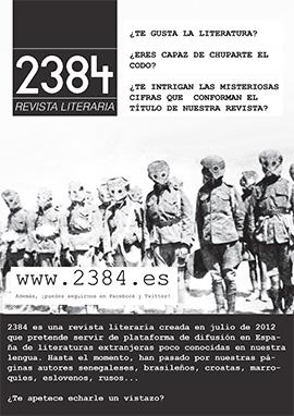 Comunidad 2384 ayudanos a difundir nuestros contenidos para llegar a nuevos lectores y seguidores